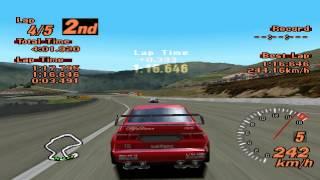 Gran Turismo 2 - Laguna Seca Raceway - Alfa Romeo 155 Touring Car - ePSXe 1.8.0