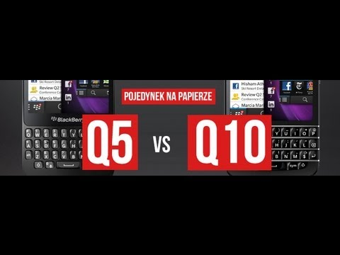 Blackberry Q10 vs Blackberry Q5 hardware compared!