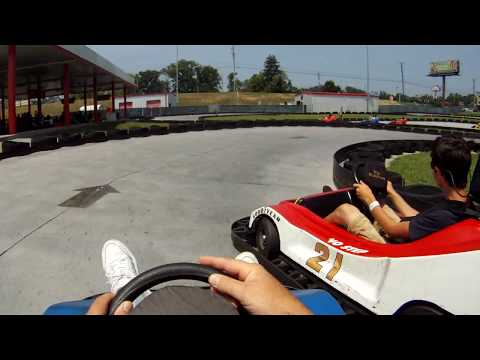 GoPro HD NASCAR Speedpark part 1 (Sevierville,Tn.)