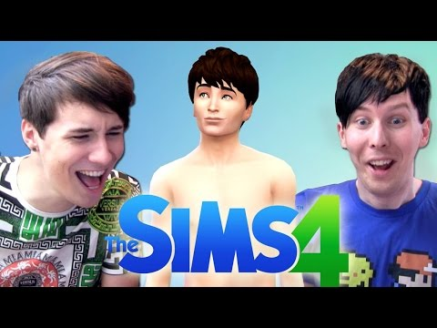 MEET 'DIL HOWLTER' - Dan and Phil Play: The Sims 4 #1