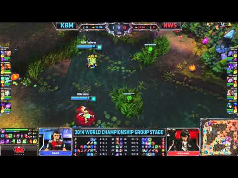KBM vs NWS - 2014 World Championship Groups C and D D3G4