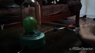 The vacuum chamber