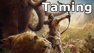 Far Cry Primal - Taming All Animals + Taming Rare Animals