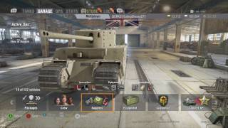 World of Tanks Xbox one TOG II* Tankfest 2017 in-game Competition