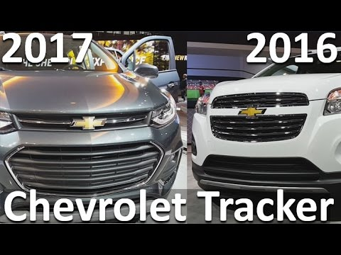 Chevrolet Tracker 2017 vs Chevrolet Tracker 2016