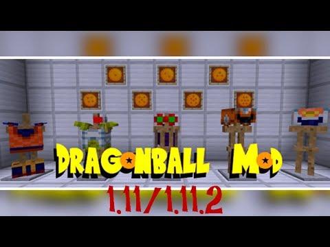 DRAGON BALL MOD (1.11/1.11.2)! Minecraft review en español 2017