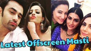 Naagin 3 Actresses Latest offscreen Masti || Surbhi Jyoti || Pearl V Puri