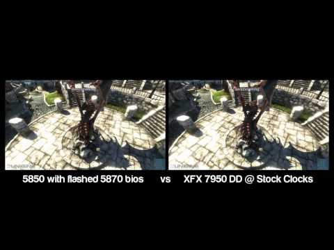 ATI 5850 VS 7950 Heaven DX11 Benchmark