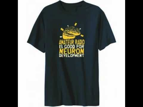 T-shirt Amateur Radio