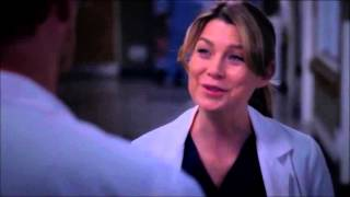 Grey's Anatomy 9x23 Owen and Meredith Discuss Adoption
