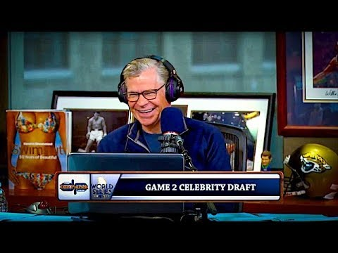 Dodgers World Series Celebrity Draft: Game 2 | The Dan Patrick Show | 10/26/17