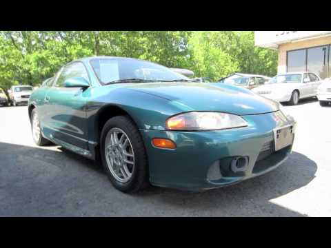 Short Takes: 1999 Mitsubishi Eclipse GS 5-spd (Start Up. Engine. Full Tour)