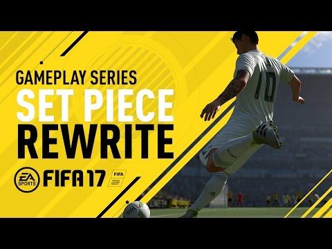 FIFA 17 Gameplay Features - Set Piece Rewrite - James Rodriguez