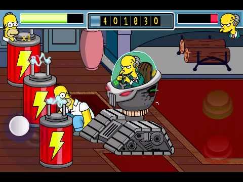 Simpsons Arcade Final Boss