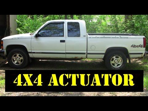 1992 Chevy 4x4 Actuator Autos Post