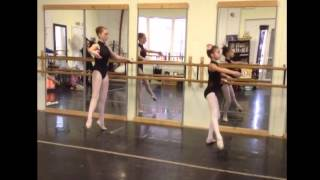 Ribbon Mill Ballet Intermediate Barre Exercises