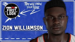NBA 2K19 - How To Create Zion Williamson (Version 2) (Realistic Face)