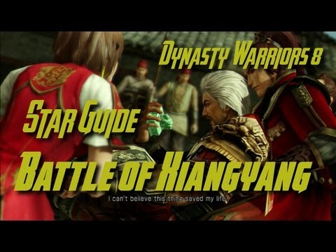 Dynasty Warriors 8 (Wu) Battle of Xiangyang Star Guide (English)