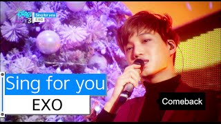 download lagu Hot Exo - Sing For You, 엑소 - 싱포유, gratis
