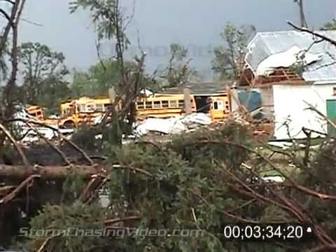 6/17/2010 Wadena, MN Tornado & Damage B-Roll video