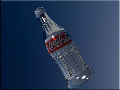 Modeling with AUTOCAD 3d (COCA-COLA BOTTLE)