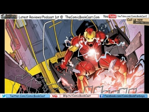 Ultimate Iron-Man #1 Review (2012)
