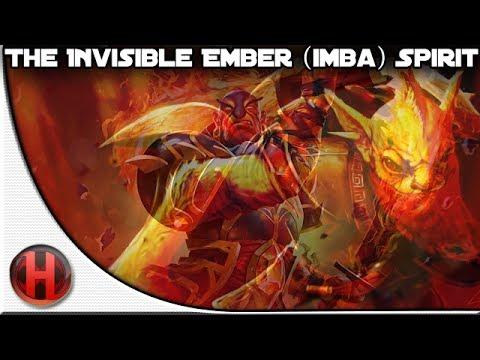 Dota 2 - The Invisible Ember (Imba) Spirit