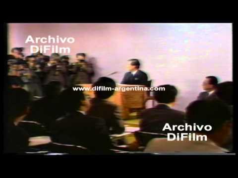 DiFilm - Ministro de Japón Toshiki Kaifu - Guerra del Golfo (1990)
