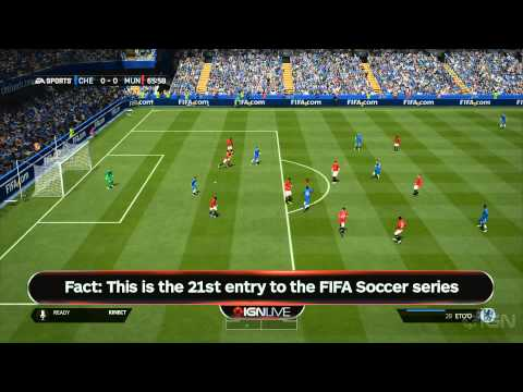 FIFA 14 Xbox One Gameplay Demo - IGN Live