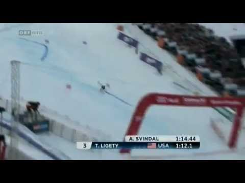 Ted Ligety GS - Third Gold Medal in Schladming