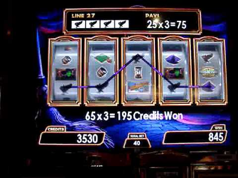 Wizard of Oz Slot Machine Win