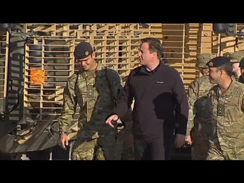 Mission successful, Cameron tells UK troops in Afghan visit