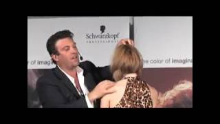 USA Schwarzkopf Professional Presents - North Bay Celebrity Stylist Joe Hamer