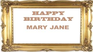 Mary Jane   Birthday Postcards & Postales