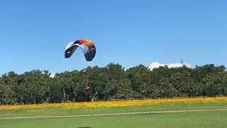 Opale Power 2.7/3.67m Paramotor at Beautiful Greg Arnette's Area 51 RC Flying Field