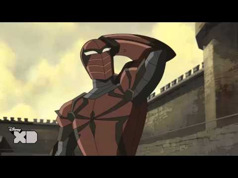 Meet Spider-Knight from Ultimate Spider-Man Web Warriors: Spider verse
