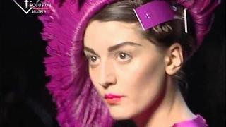 fashiontv | FTV.com - First Face Talks F/W 07-08 Irina Lazareanu