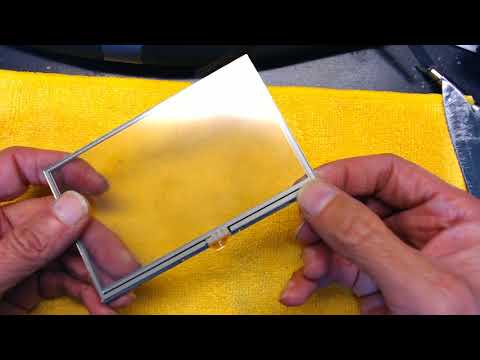 Tutorial On Replacing The Digitizer Touch Screen in a Garmin Nuvi 1490 14xx