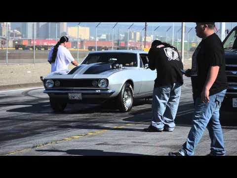 67 CAMARO 496 BIG BLOCK vs LSX NITROUS MUSTANG