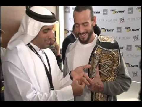 CM Punk & R-Truth (WWE) Vs. Moein Al Bastaki Music Videos