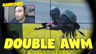 SOLO DOUBLE AWM 13KILLS CHICKEN DINNER | PUBG MOBILE HIGHLIGHTS | RAWKNEE