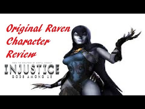 Injustice iOS - Original Raven Character Review