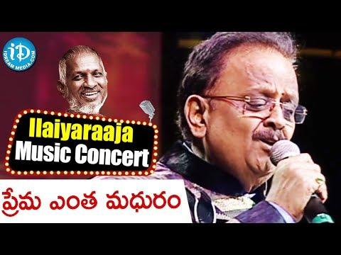 Prema Entha Madhuram Song - Maestro Ilaiyaraaja Music Concert 2013 - Telugu - New Jersey, Usa video