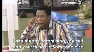 SCOAN 06 April 2014: Message: Only Faith Pleases God (Part 1) By Prophet TB Joshua, Emmanuel TV