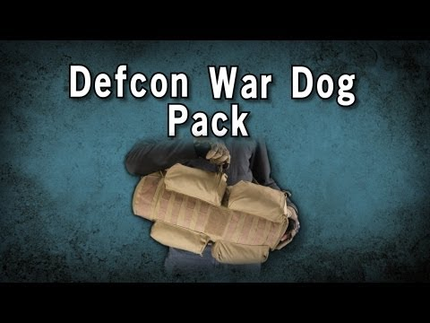 Airsoft GI - Defcon 500 Denier War Dog Sling Pack w/ Extendable Main Compartment