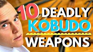 10 DEADLY WEAPONS FROM OKINAWA (KOBUDO) — Jesse Enkamp
