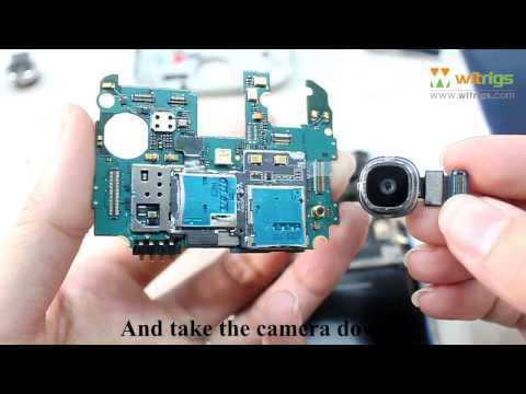 How to Remove and Replace Samsung Galaxy S4 Rear Camera