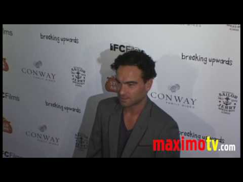 Johnny Galecki at Breaking Upwards Premiere in Los Angeles April 8, 2010
