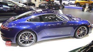 2020 Porshe 911 Carrera 4s - Exterior And Interior Walkaround - 2019 Montreal Auto Show