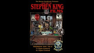 Discourse EP 18 - Our Top 20 Stephen King Films